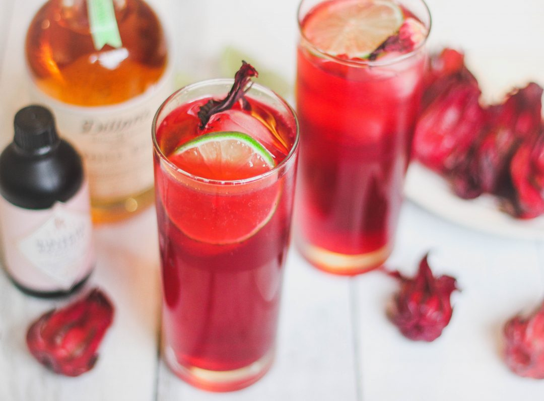 Sorrel And Rose Gin And Tonic Anise To Zaatar